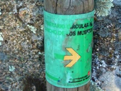 Puente de los Pollos - Cancho de los Muertos - La Pedriza; grupos de senderismo madrid